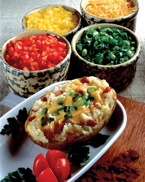 toppings for a baked potato bar 1000 ideas about baked potato bar on pinterest baked