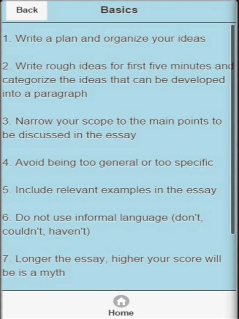 Apps For Writing Essays by App Shopper Essay Writing Essay Topics Education