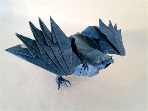 Origami Hawk - cooper s hawk 171 friesen folding
