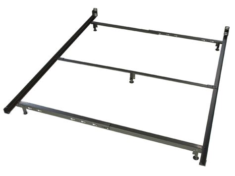 Low Profile Queen Size Metal Bed Frame Lower Bed Frame Height
