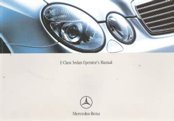 automotive repair manual 1996 mercedes benz e class regenerative braking 2004 mercedes benz e class sedan factory owner s manual