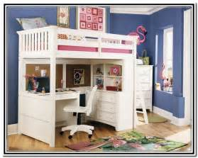 Free Wooden Bookshelf Plans by Wooden Loft Bed With Desk Most Recommended Space Available Furniture Set Homesfeed