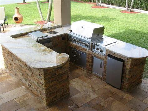 Outdoor Kitchen Island Upholstered Bar Stool Stainless