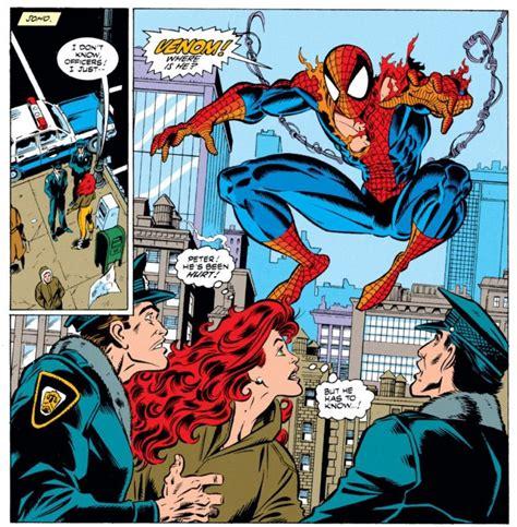 libro spider man by david michelinie amazing spider man 374 and venom s last great 90s story