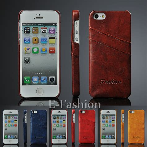 Casefashion Casehigh Qualityfor Iphone 5g5s 1 luxury leather cell phone back cover with