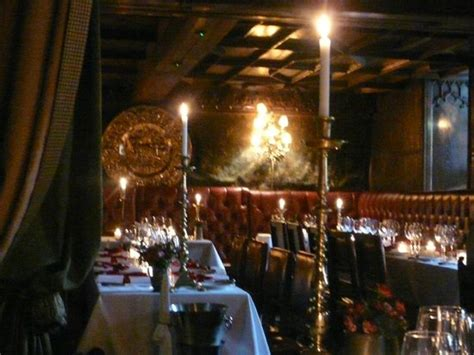 The Witchery Dining Room by Foie Gras Picture Of The Witchery By The Castle