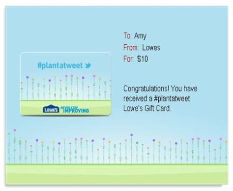 Lowes Email Gift Card - i got my 10 lowes gift card did you who said nothing in life is free