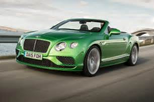 Bentley Gt Sport Price 2016 Bentley Continental Gt Speed Convertible Test