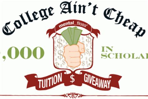 Win Free Tuition Giveaway - 50 000 tuition giveaway mental floss