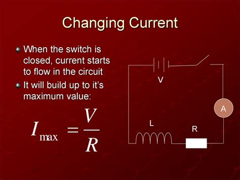 when current in an inductor starts to change it cannot react instantly due to inductors презентация онлайн