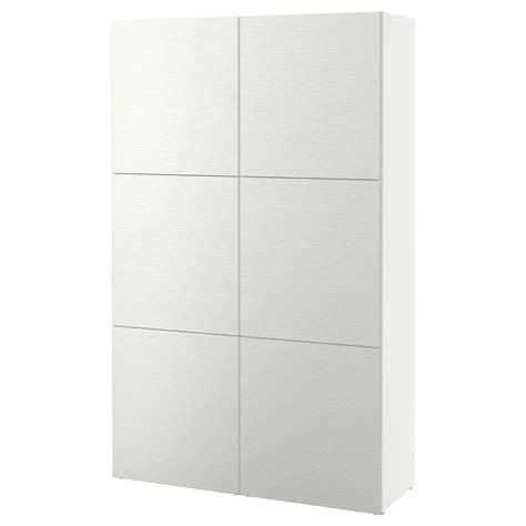 besta laxviken best 197 combinaison rangement portes laxviken blanc
