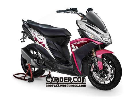 Visor Windshield Honda Vario 110 Fi Vario 111 modifikasi yamaha mio125 m3 cxrider