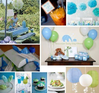 Baby Shower Handmade Decorations - baby shower decorations ideas for baby boy baby