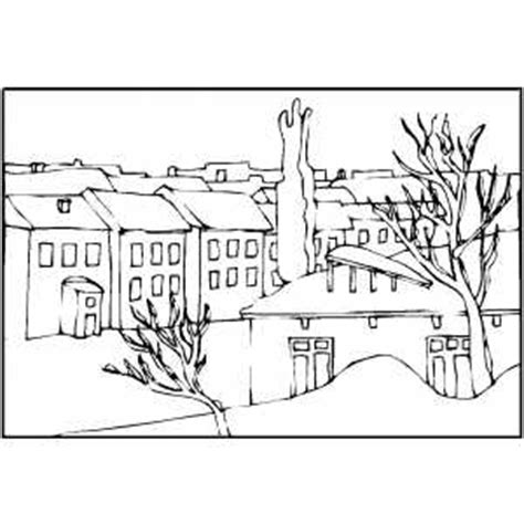 western landscape coloring page western towns colouring pages page 2