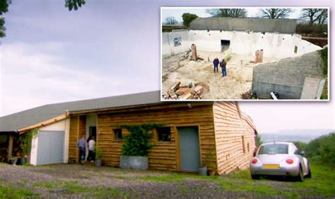 grand designs revisited couple convert   shed  stunning  grid home property