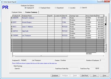 payroll accounting software payroll software screenshots cyma
