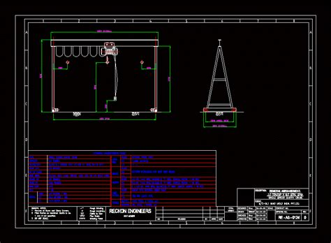 templates en autocad gantry crane dwg block for autocad designs cad