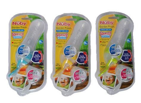 Nuby Squeeze Spoon Feeder Sendok Makan Bayi nuby squeeze feeder garden fresh solids botol