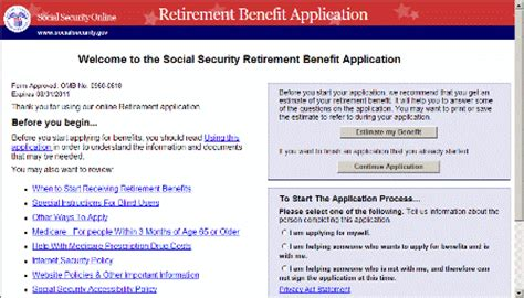 how to apply for social security benefits go to