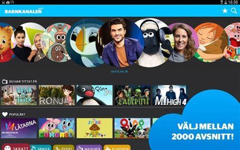 svt barnkanalen android apps on google play