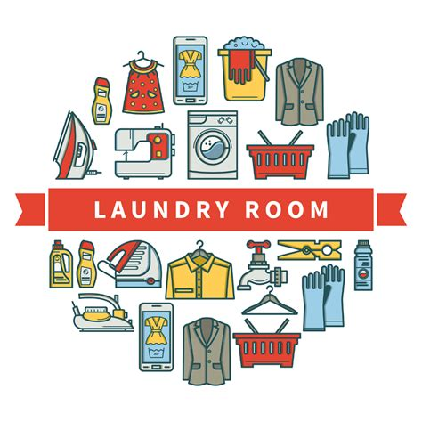 Web Deal 20 At Laundry by Free Laundry Room Linear Icons Free Design Resources