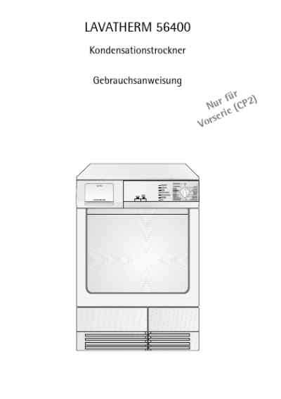 aeg lavatherm kondenstrockner 315 aeg lth56400 clothes dryer manual for free now