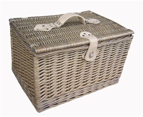 Antique Wash Wicker Hamper Storage Basket Small Medium Bathroom Storage Baskets Uk