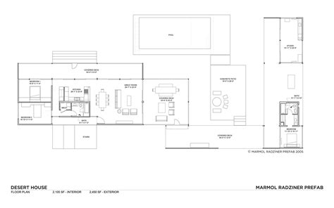desert home plans desert house by marmol radziner karmatrendz