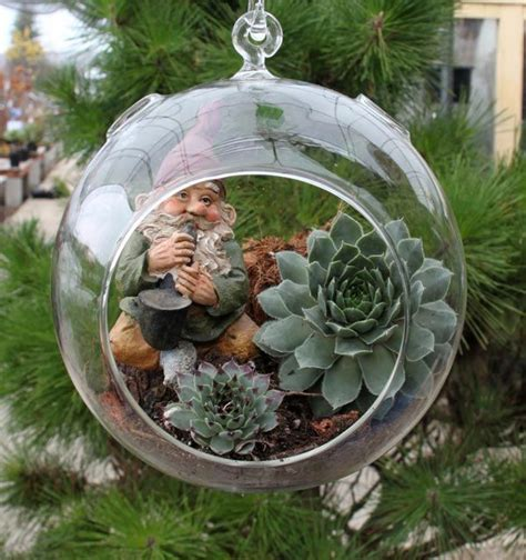 Garden In Glass Succulents In A Glass Bowl Diy With Hens And From