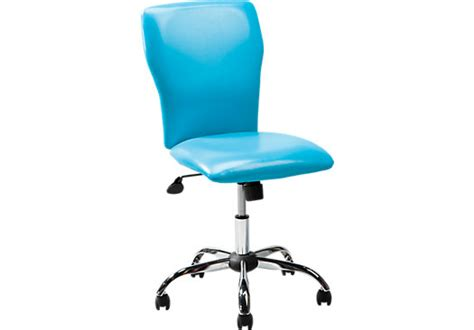 Turquoise Desk Chair by Rooms To Go Affordable Bedroom Furniture Store