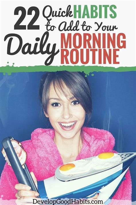 34 morning daily routine habits for a healthy start to best 25 daily routines ideas on pinterest healthy