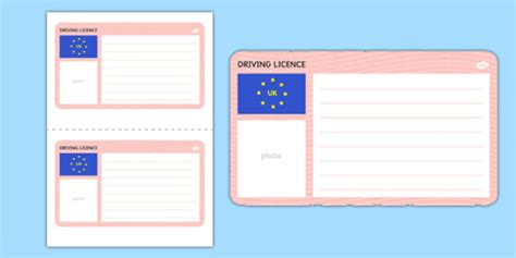 Uk Driving License Template by Blank Driving Licence Template Driving Cars Template