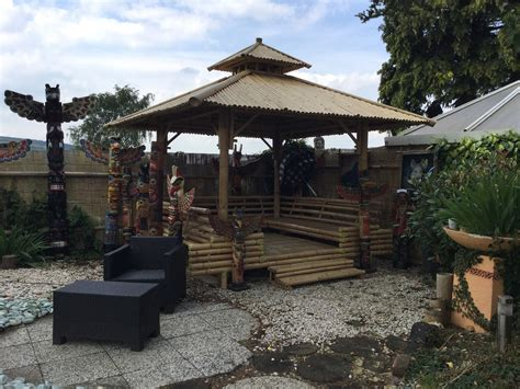 Pavillon Bambus by Pavillon Big Horn
