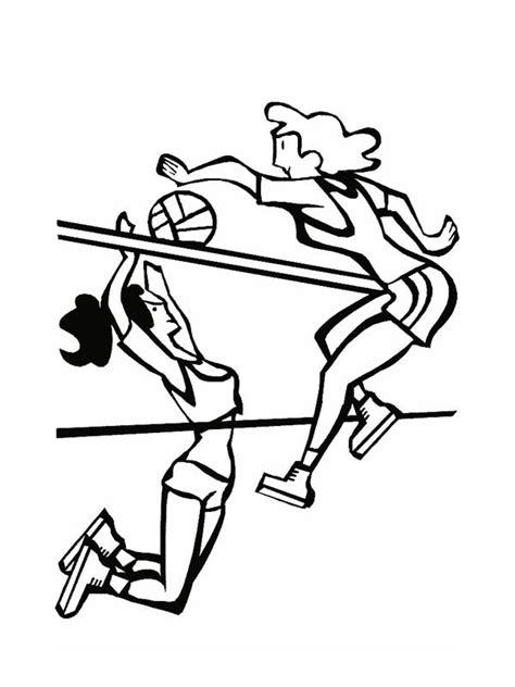 cartoon volleyball coloring page cartoon volleyballs cliparts co