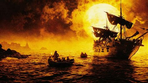 themes in the black pearl pirates of the caribbean the curse of the black pearl