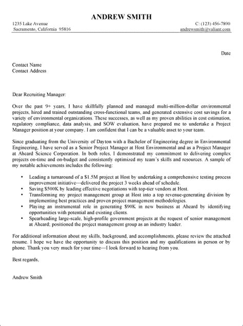 Well Written Cover Letter by Exles Of Well Written Cover Letters Cover Letter Templates