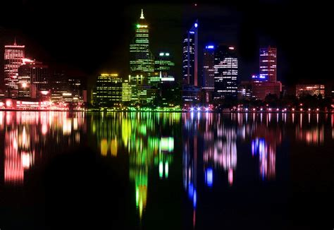 rainbow city lights by writeitdown2908 on deviantart