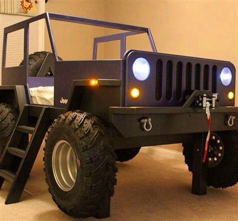 jeep wrangler bed kids jeep bed