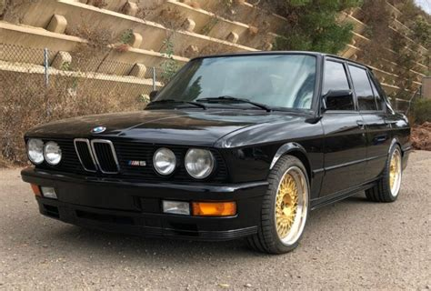 1988 Bmw M5 For Sale no reserve 1988 bmw m5 for sale on bat auctions sold