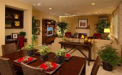 Small Living Room Dining Room Combo Decorating Ideas by Cool Kitchen Dining And Living Room Combo For Small Space