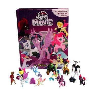 jual film edukasi anak jual phidal my busy book my little pony the movie set