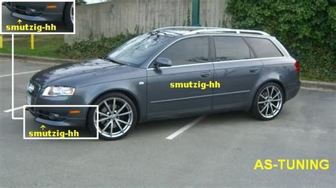 Audi A4 Bj 2008 by Frontspoiler Frontlippe F 220 R Audi A4 B7 2004 2008 Bj Ebay