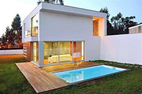 casas cuadradas modernas dise 241 o de casa cuadrada de dos pisos con planos y fachadas
