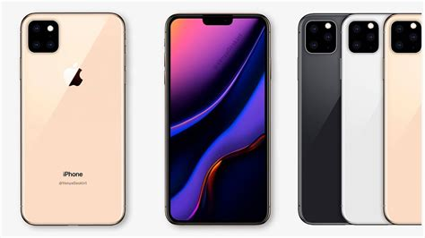 2019 new iphone xi design rumored features iphone 11 renders