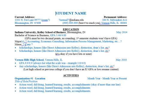 kelley school of business resume template editable resume template free templates to