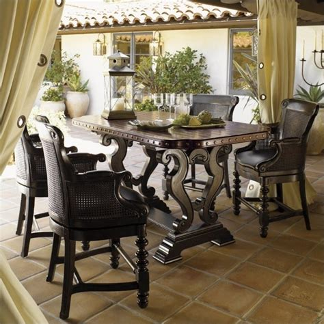 bahama kitchen table bahama home kingstown bistro table in cassis