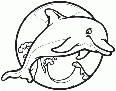 Get This Dolphin Coloring Pages For Kids 56481 How To Print Coloring Pages