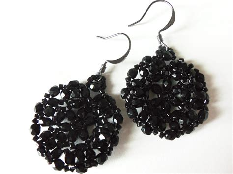 black bead earrings best black bead earrings photos 2017 blue maize