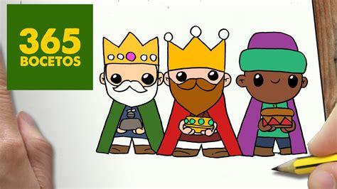 imagenes reyes magos disney como dibujar reyes magos para navidad paso a paso dibujos