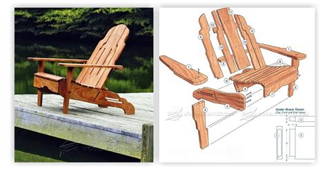 How To Build An Adirondack Chair by Build Adirondack Chair Woodarchivist